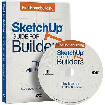 SketchUp Guide for Builders, DVD  - Media   Woodworking Software