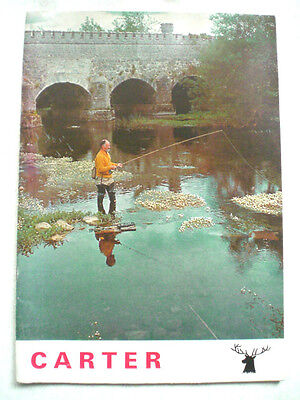A Rare Carter Of London Advertising Fishing Catalogue Undated Circa 1970's