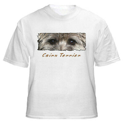 "Cairn Terrier  "" The Eyes Have It ""  Custom Made Tshirt"