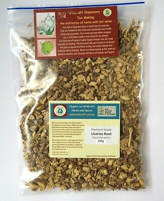 LICORICE ROOT Glycyrrhiza glabra 50g Premium Grade Herbal Tea Dried Liquorice