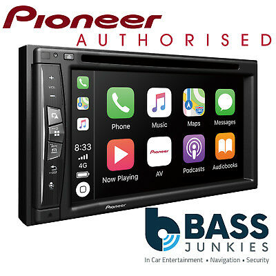 "Pioneer AVIC 6.2"" Double Din Navigation Bluetooth DVD Carplay Car Stereo Screen"