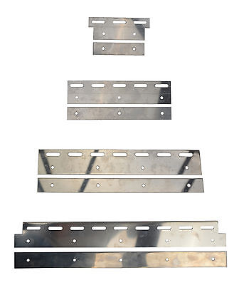 Stainless Steel Plate set for PVC Curtain Strips