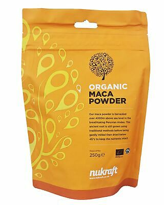 Organic RAW MACA powder - Peru - nutritious and energising root