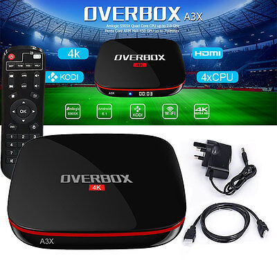 MX9 5.1.1 Quad Core Smart 4K Fully Loaded XBMC KODI Android TV Box 16.1 Jarvis