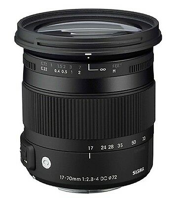 Sigma 17-70mm F2.8-4 DC Contemporary Macro LENS for Sony Free Express