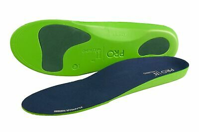 Pro11 wellbeing Orthotic Insoles for Back heel Pain Plantar fasciitis Treatment