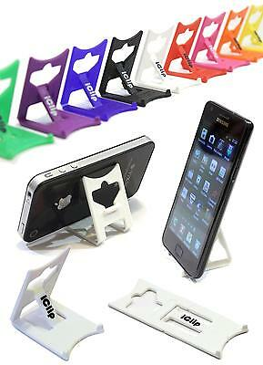 Mobile Smart Phone, Mp3, Mp4, Mp5 Player WHITE iClip Folding Travel Desk Stand