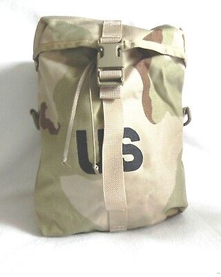 MOLLE ll Sustainment Pouch G.I. US Military Bag SDS Desert Camouflage New