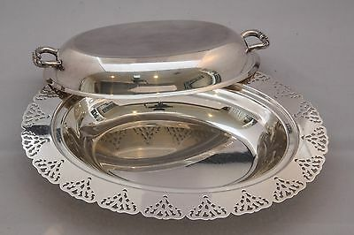 COVERED VEGETABLE SERVER - Lovely Covered Dish!