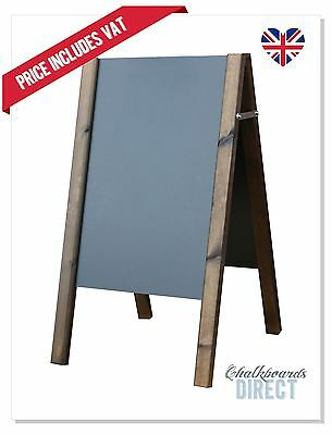 Wooden Eco A Board Pavement Sign Menu Board Chalkboard Liquidchalk (Ecos)