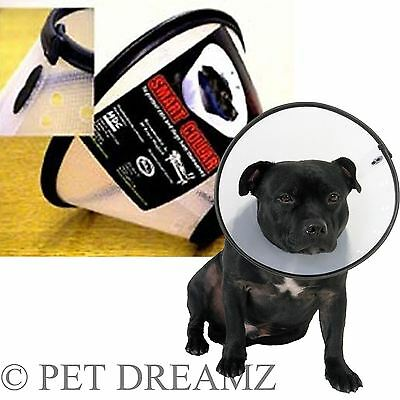 Company of Animals Smart Elizabethan Vet Collar Dog Cat Lampshade Recovery