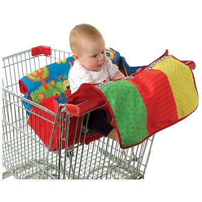 Brand New Playgro Travel Along Trolley High Chair Cover Playmat 0m+ BPA Free