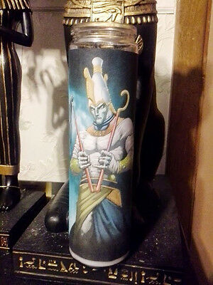 )O()O(  7 Day Spell Candle Egyptian Osiris Blessings Magick Wiccan )O()O(