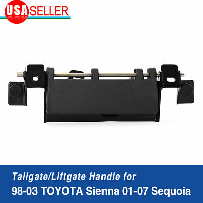 Exterior Door Handle for 95-04 Toyota Tacoma Black Front Left Driver Side