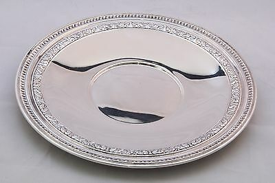 "REED and BARTON 10"" SILVER PLATED PLATE - Beautiful Piece!"