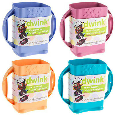 Dwink Universal Juice Pouch Milk Box Holder Cup Toddler Special Need Autism K194