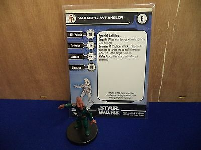 Varactyl Wrangler Champions Of The Force Star Wars Miniatures 60/60