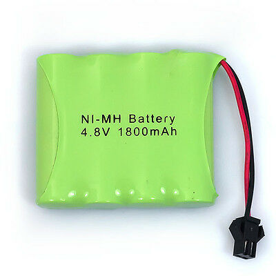 Brand New 4.8V 1800mAh 4x AA NIMH RC Rechargeable Battery Pack Modle-1 For Toys