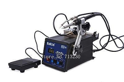120w High Frequency Lead Free Soldering Iron Station with Wire Self-feeder BK350