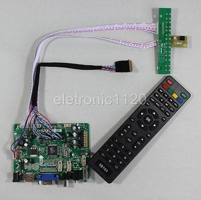 LCD USB HDMI VGA AV Audio driver board for Resolution 1600x900 LED 40P lcd panel