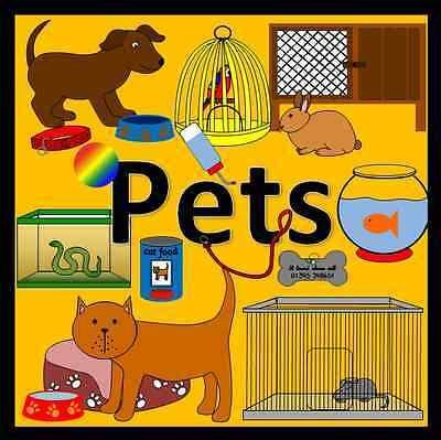 PETS topic teaching resources TO PRINT - EYFS, KS1, childminder, animals