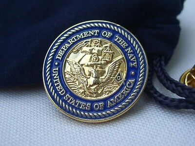 Masonic Freemason Freemasonry United States US Navy Lapel Pin Plus Gift Pouch