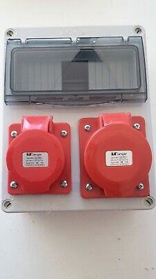 400V3phase16A&32A 5 Pin  Industrial Socket.Distribution board.Caravan Hook Up