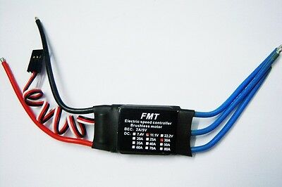 30A Brushless ESC Speed Controller for RC Multi-Rotor Aircraft Helicopter