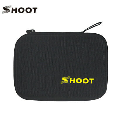SHOOT Portable Travel Storage Case Collecting Box for GoPro Hero 8 7 6 5 5S 4 3+
