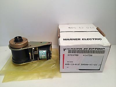 New! Warner Electric Clutch W/ Solenoid 405-13-012 40513012 Sa500Hicw