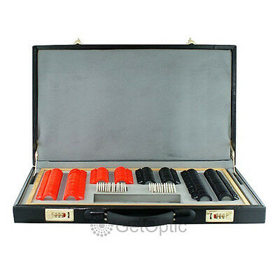 266pcs Plastic Rim Trial Lens Set With Leather Case Brand New optical