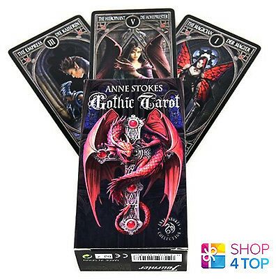 Anne Stokes Gothic Tarot Cards Deck Fantasy Art By Fournier Made In Spain Oracle