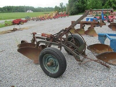 Oliver 2 Bottom Plow Pull Type