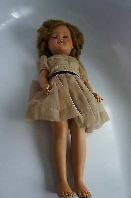 """17"""" IDEAL SHIRLEY TEMPLE DOLL CIRCA 1950"""
