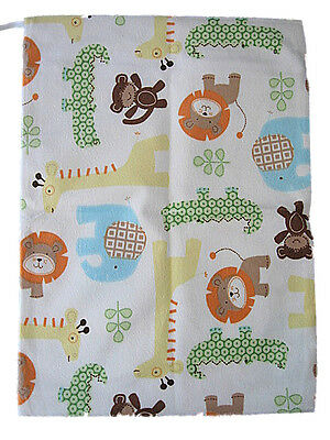 Minky Reusable Baby Cloth Diaper Nappy Wet & Dry Bag Swimmer Zipper Tote (WB16)