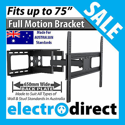 Full Motion Swivel Pivot LCD LED Plasma TV Television Bracket Wall Mount