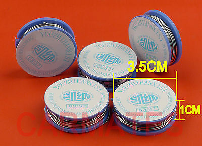 5 Reels Tin Lead Solder 63Sn/37Pb 0.8mm 8.5 METERs for Soldering iron station OZ