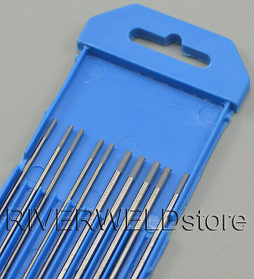 """2% Ceriated WC20 TIG Welding Tungsten Electrode Assorted Size 1/16"""" & 3/32"""",10PK"""
