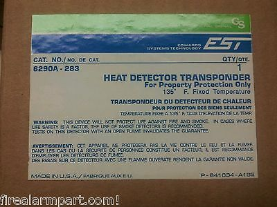 EST 6290A-283 135' Heat Detector Transponder Addressable Devices IRC-3 (4 AVAIL)