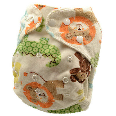 Reusable Modern Cloth Nappy Pocket Diapers liner insert One Size Fits All (M27)