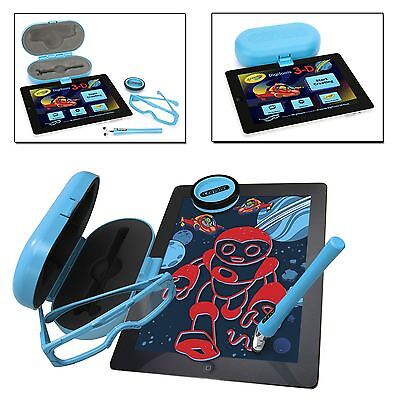 Crayola Digitools Digital 3D Effect Pack iPad Kid Toy Drawing Art Set 3D Glasses