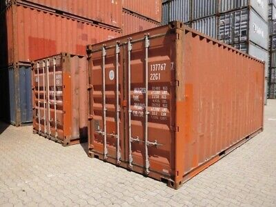 20 GP Stahlcontainer Hochseecontainer Lagercontainer Transportbehälter 6 meter