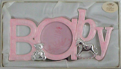 Silver Plated Baby Girl Photo Frame BABY