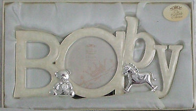 Silver Plated Baby Photo Frame BABY