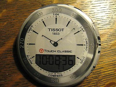 Tissot 1853 Touch Classic Swiss Made Watch Advertisement Pocket Lipstick Mirror