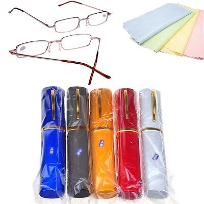 New Hot Slim Mini Pocket Reading Glasses Eyeglass Spectacle +1.50 +2.00 +2.50