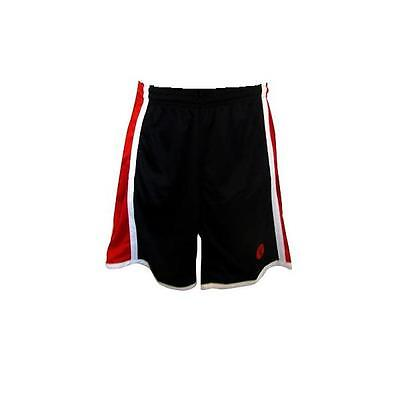 Basketball Shorts / By Starting 5 / Black / Red / White (Box 17) FREE P & P
