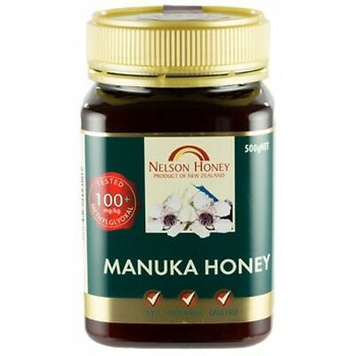 Nelsons Active Manuka Honey 100+ 500g