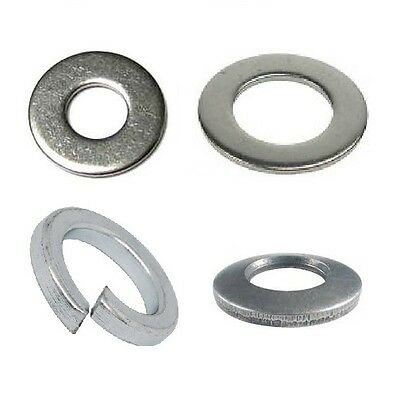 m2/2.5/3/3.5/4/5/6/8/10/12mm stainless washers Form A/B/C/DIN433/SPRING/CONICAL