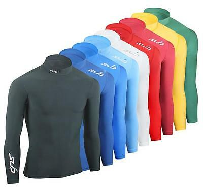 Sub Sport's COLD Men's Compression Top Baselayer Thermal Mock Neck Skin Tight